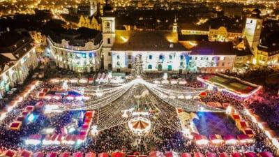 În plină criză energetică și sanitară, un oraș din România plătește o sumă imensă pentru beculețe de Crăciun