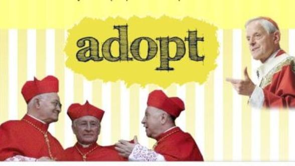 """""""Adopta un cardinal"""", cel mai recent site in voga la Vatican"""
