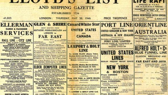 """Cel mai vechi ziar din lume"" renunta la editia tiparita"