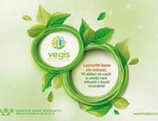 """""""Lucrurile bune vin natural"""", sau cum a strans Vegis.ro peste 10.000 euro de la clienti in sprijinul Fundatiei HOSPICE Casa Sperantei"""