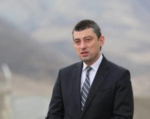 """""""Omul Moscovei"""" conduce guvernul georgian. Premierul demisionase laudandu-se cu relatiile bune cu UE si SUA"""