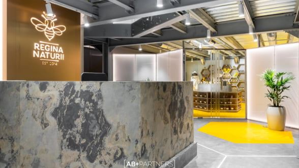 """Regina Naturii"" - despre cum sa intorci la 180 de grade un spatiu industrial, prin design interior"