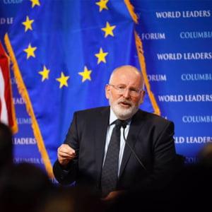 """""""Situatia din Romania"""", discutata luni in Comisia pentru libertati din Parlamentul European. Participa si Frans Timmermans"""