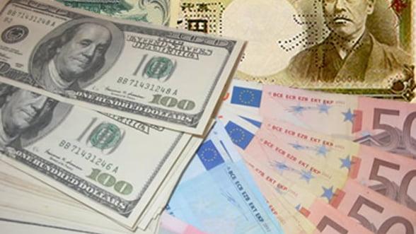 Curs valutar 18 septembrie. Alpha Bank, in competitie cu casele de schimb valutar