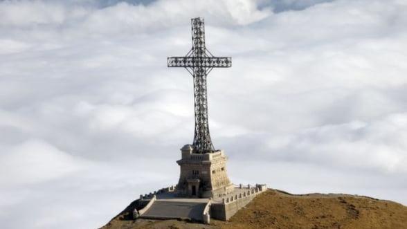 FOTO Crucea Caraiman a intrat in Cartea Recordurilor