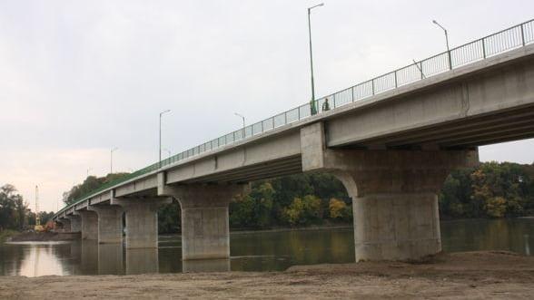FOTO Povestea podului de peste Mures, un vis vechi de 120 de ani, devenit realitate