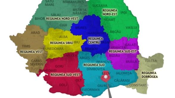 Regionalizare Fiecare Regiune Va Avea Identitatea Ei Economica