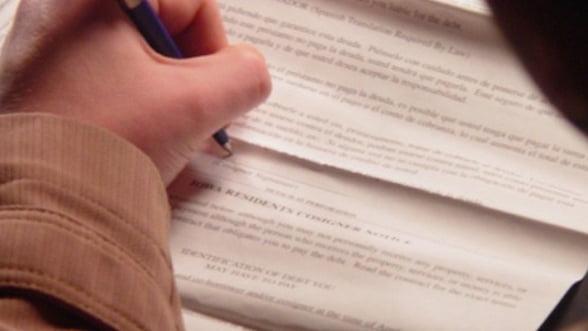 UPDATE: Guvernul aproba legea care poate duce la eliminarea clauzelor abuzive