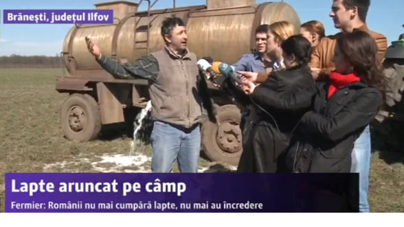 UPDATE Criza laptelui. Constantin spune ca nu au crescut importurile de lapte