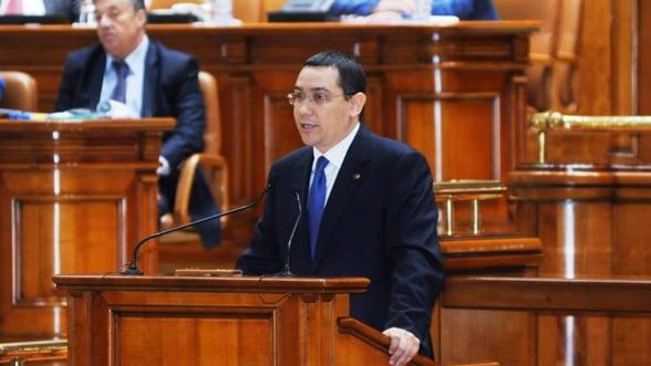 Bloomberg: Ponta, premierul pasionat de masini, prins pe traseul luptei anti-coruptie
