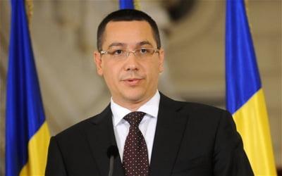 Ponta: Noul Guvern va pastra reforma fiscala si pachetul de dezvoltare economica stabilite in USL