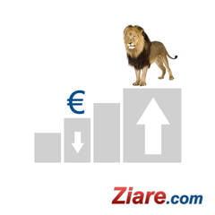 Curs leu-euro Leul se intareste - euro a scazut sub 4,48