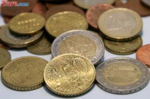 Curs valutar: Euro a scazut la cel mai slab nivel din ultimele trei luni