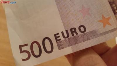 Curs valutar: Euro scade, dar lira sterlina e la cea mai mare valoare din ultimele 5 luni
