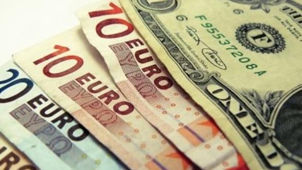 Curs valutar: Leul se devalorizeaza pentru a patra zi consecutiv in fata principalelor valute
