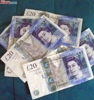 Curs valutar: Lira sterlina, cel mai scazut nivel din ultimele 7 luni
