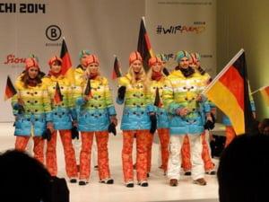 Olimpiada Soci 2014 O defilare ca un curcubeu
