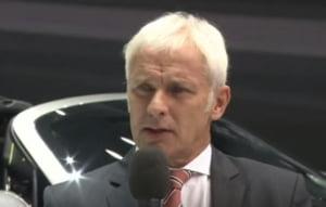 """Scandalul Volkswagen: Noul director anunta """"schimbari dureroase"""" in grup"""