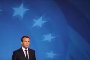 Stratfor: Macron merge in Romania pentru a-si proteja muncitorii