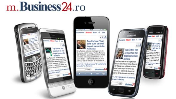 m.Business24.ro: Cele mai importante stiri in cel mult 10 minute, pe telefonul mobil