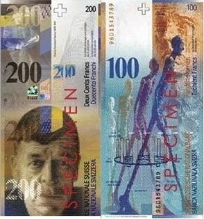 Curs valutar 27 ianuarie: Francul elvetian a scazut sub euro