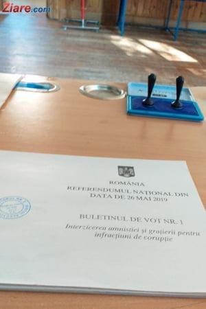 LIVE Milioane de romani au votat la referendum: Primele 3 judete in care s-a atins pragul de 30%