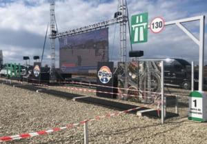 LIVE Stefan Mandachi inaugureaza primul metru de autostrada din Moldova