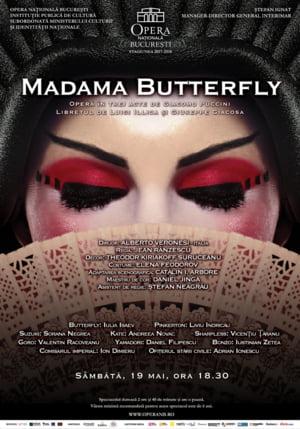Madama Butterfly de Giacomo Puccini, pe scena Operei Nationale Bucuresti