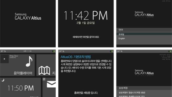 """""""iWatch"""" are concurenta: Samsung pregateste un ceas inteligent"""