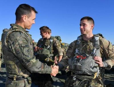 1.000 de militari britanici vin in Romania