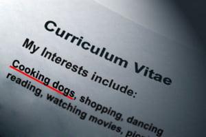 10 lucruri pe care sa le omiti in CV