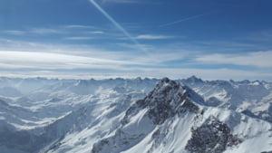 10 mii de turisti sunt blocati in doua statiuni din Alpi, ingropate in zapada de 2 metri