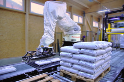 100.000 de tone de sare ambalata la Salina Ocna Dej cu costuri minime de mentenanta