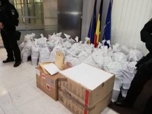 200 de kilograme de cocaina au fost gasite plutind in zona platformelor marine din Constanta
