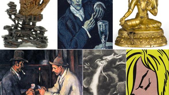 2012 un an promitator pentru coletionarii de arta: Cele mai importante lucrari licitate