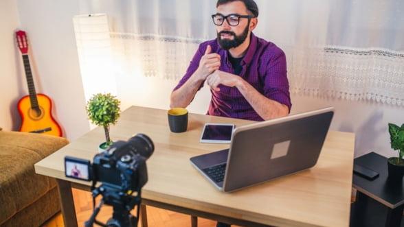 4 sfaturi pentru inregistrarea si transmiterea cursurilor online