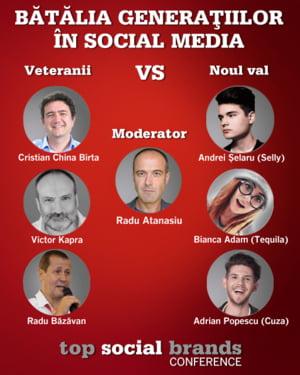 6 zile pana la lansarea Topului Social Brands 2018, cele mai eficiente branduri din social media