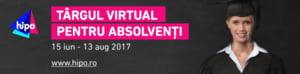 600 de joburi pentru tineri la Targul Virtual Hipo.ro pentru Absolventi 2017