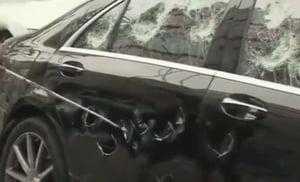 A distrus un Mercedes cu o crosa de golf - care a fost motivul (Video)