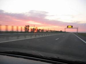 A doua cale a sectiunii Murfatlar - Constanta din Autostrada Soarelui, deschisa traficului