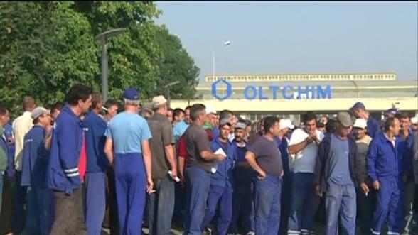 A doua zi de proteste la Oltchim