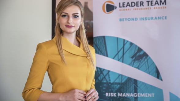 A fost cel mai tanar CEO femeie din asigurari. Acum conduce cel mai creativ broker de asigurari din Romania #Interviu