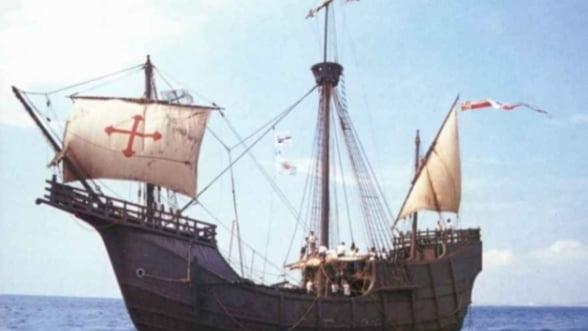A fost descoperita Santa Maria, corabia lui Cristofor Columb