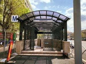 A fost inaugurata o noua iesire a statiei de metrou Tineretului