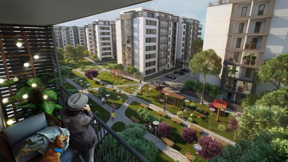 A inceput constructia cartierului rezidential pe malul lacului Pipera: Se va intinde pe 57.000 de metri patrati si va costa 90 de milioane de euro