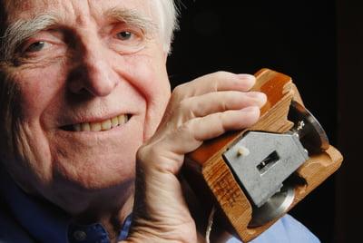 A murit inventatorul mouse-ului, Douglas Engelbart