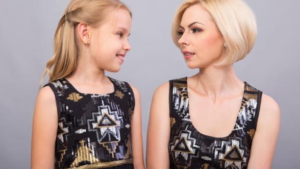 A renuntat la corporatie pentru a deveni pionierul modei mama-fiica in Romania: Nu mirajul de a ma imbogati m-a determinat sa pornesc pe cont propriu