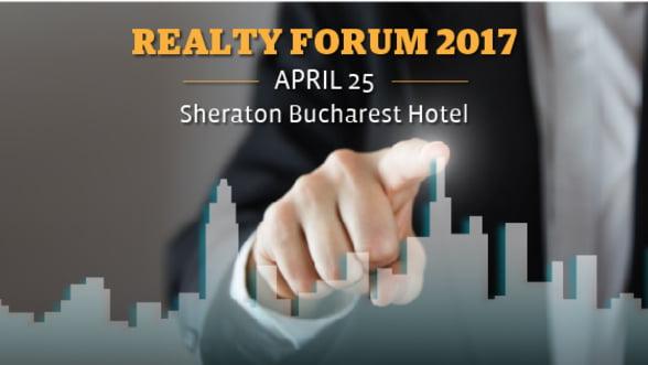 A saisprezecea editie a forumului Realty va avea loc pe 25 aprilie