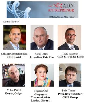 ADN Antreprenor: Descopera oportunitatile mediului de afaceri romanesc in 2016