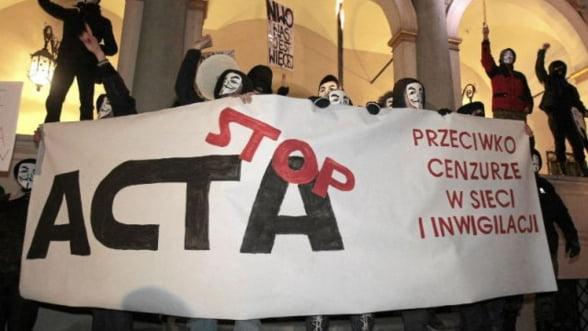ALDE voteaza impotriva ACTA